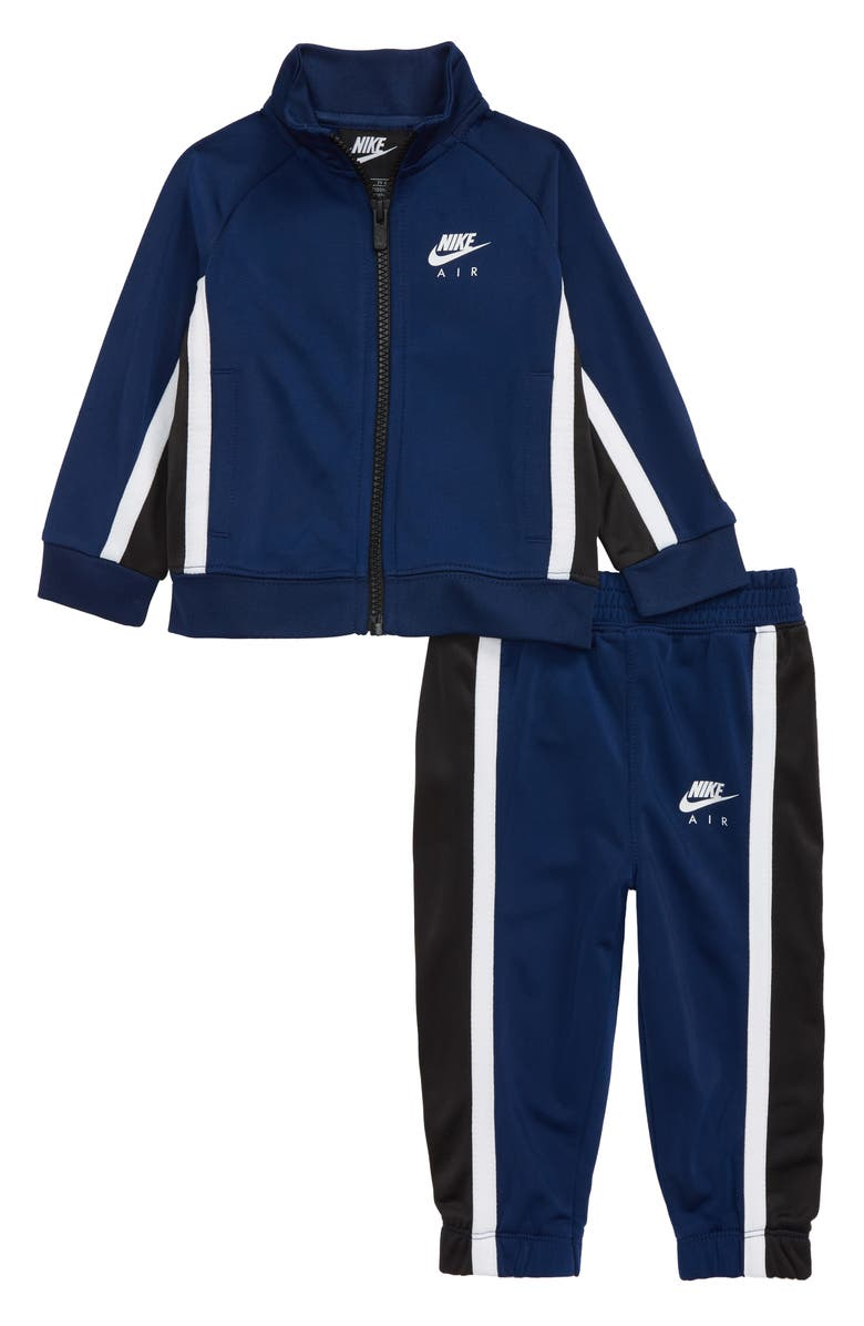 NIKE Air Tricot Track Suit, Main, color, BLUE VOID