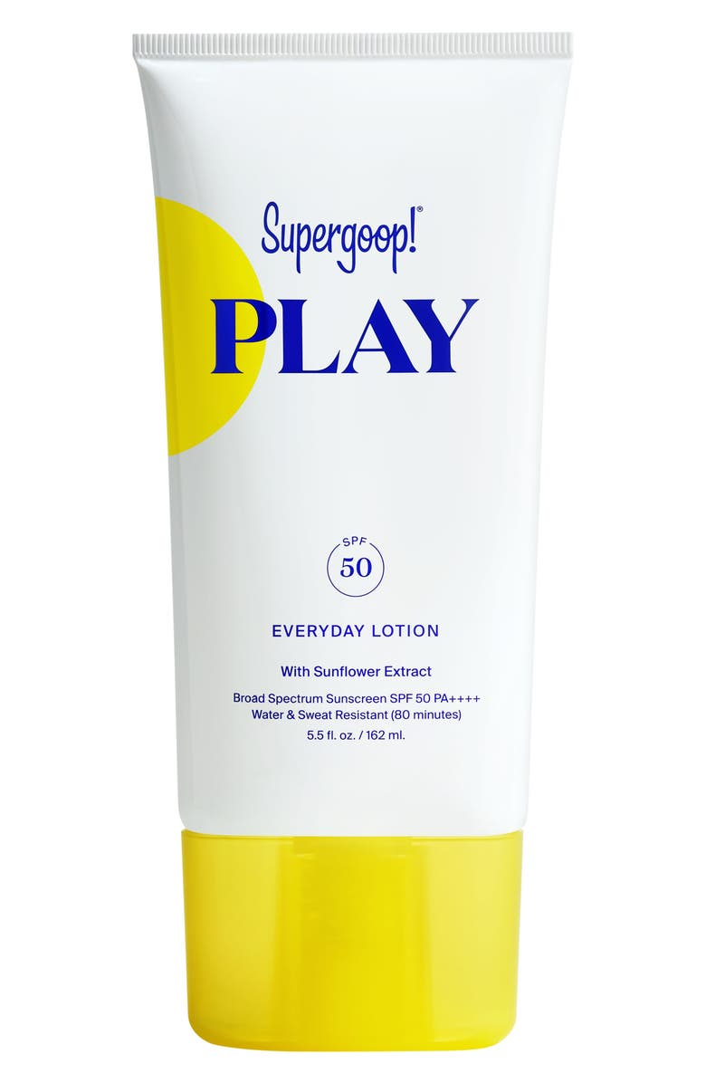 SUPERGOOP!<SUP>®</SUP> Supergoop! Play Everyday Lotion SPF 50, Main, color, NO COLOR