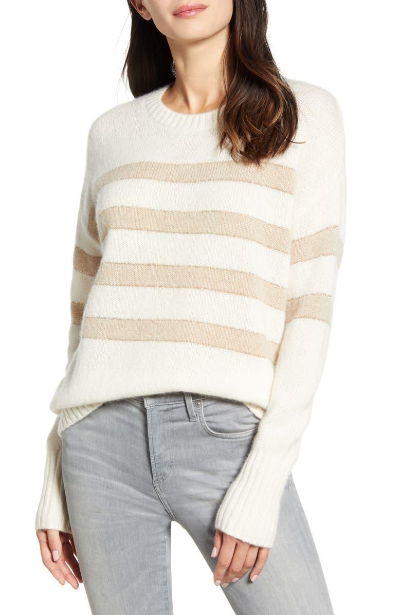 RAILS Saturn Stripe Sweater, Main, color, 902