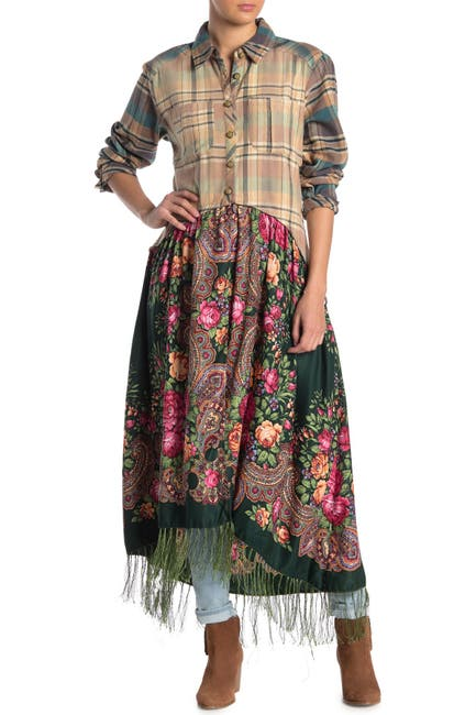 Image of ARATTA Grand Duchess Maxi Shirt Dress