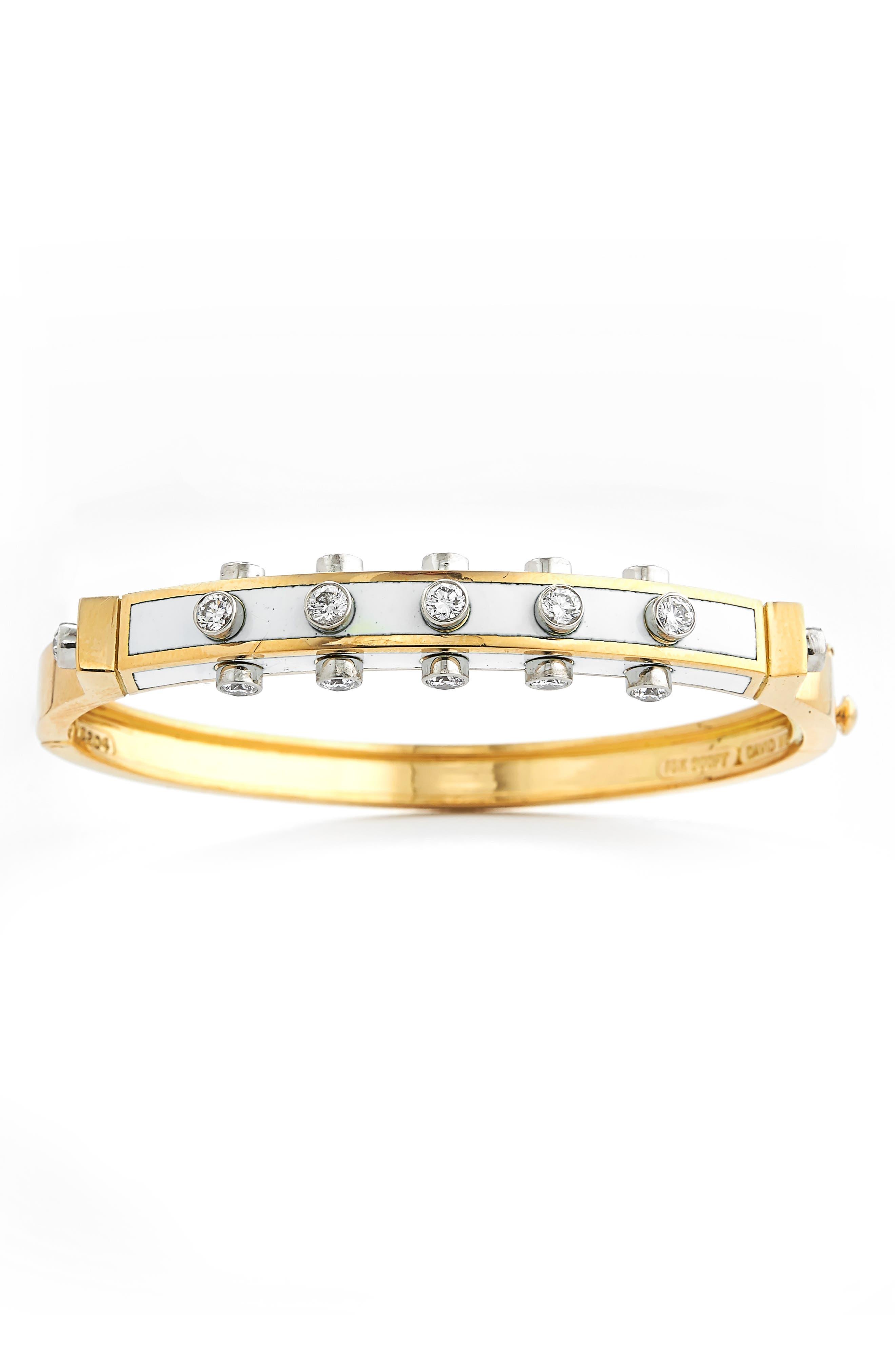 Motif Studlette Bangle Bracelet