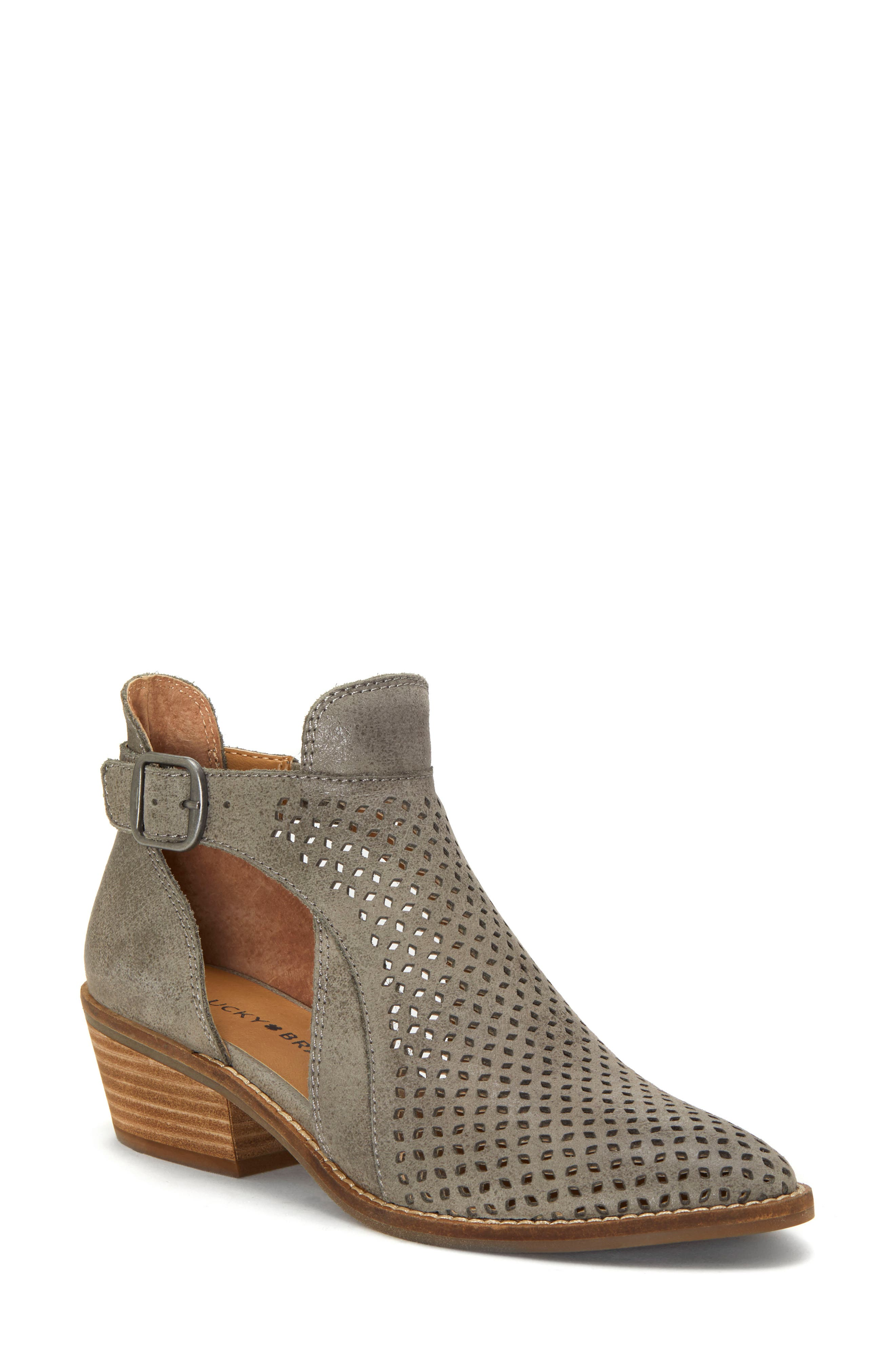 Lucky Brand Fillian Bootie- Metallic