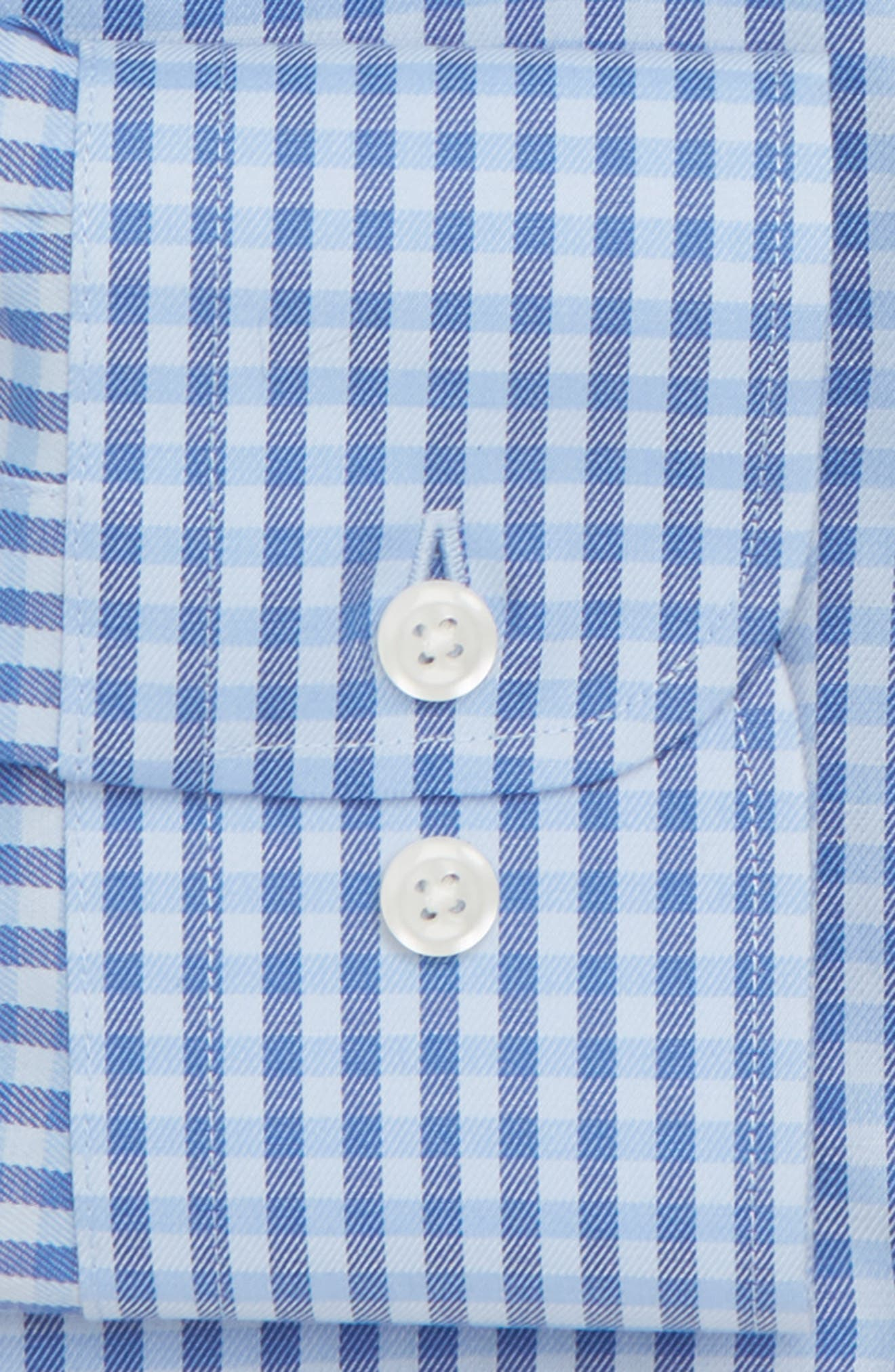 ,                             Traditional Fit Non-Iron Gingham Dress Shirt,                             Alternate thumbnail 18, color,                             455
