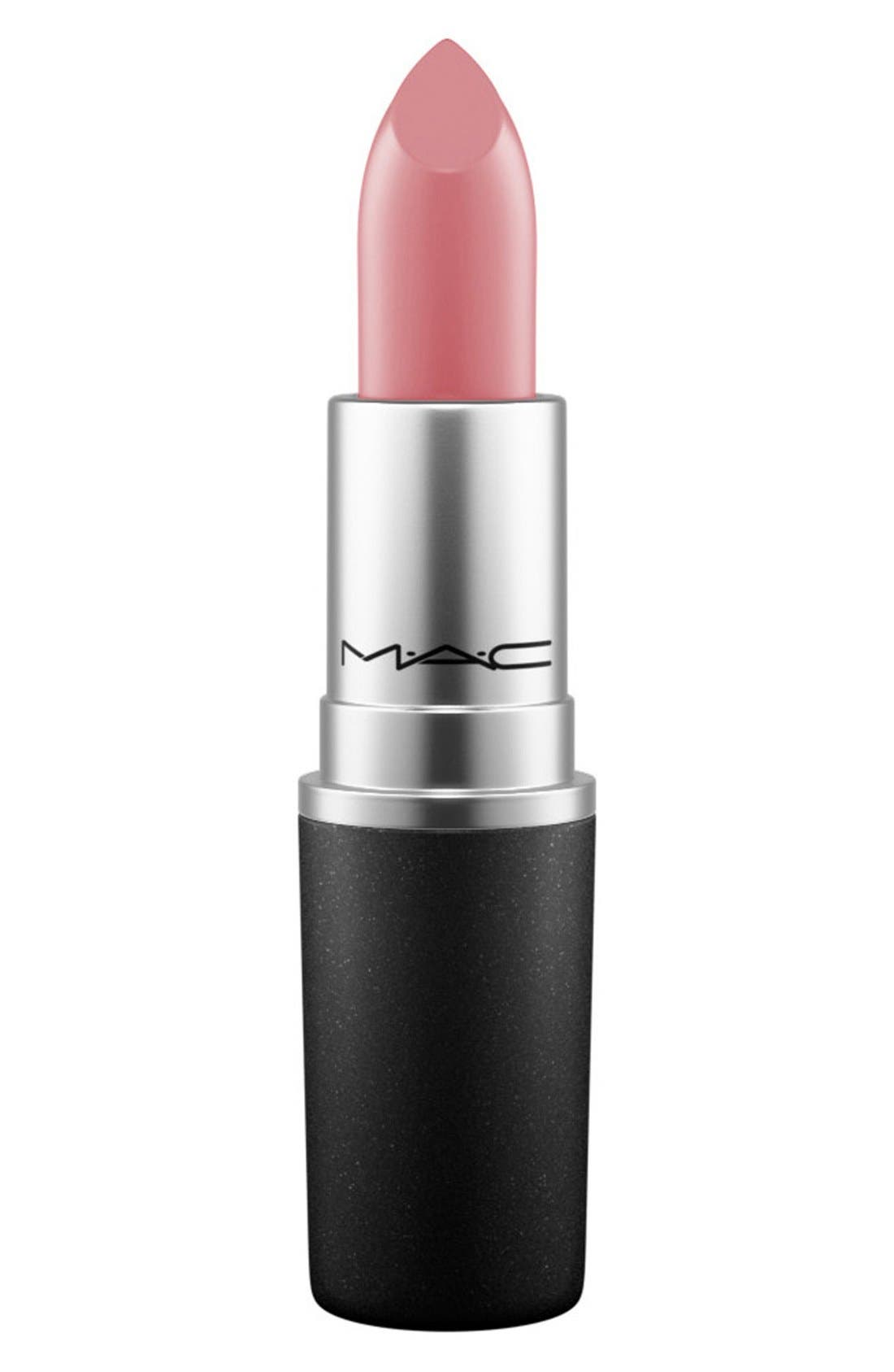 ,                             MAC Strip Down Nude Lipstick,                             Main thumbnail 683, color,                             698