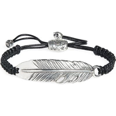 John Varvatos Feather Bracelet