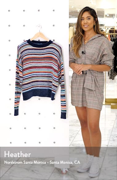 Chenille Stripe Sweater, sales video thumbnail