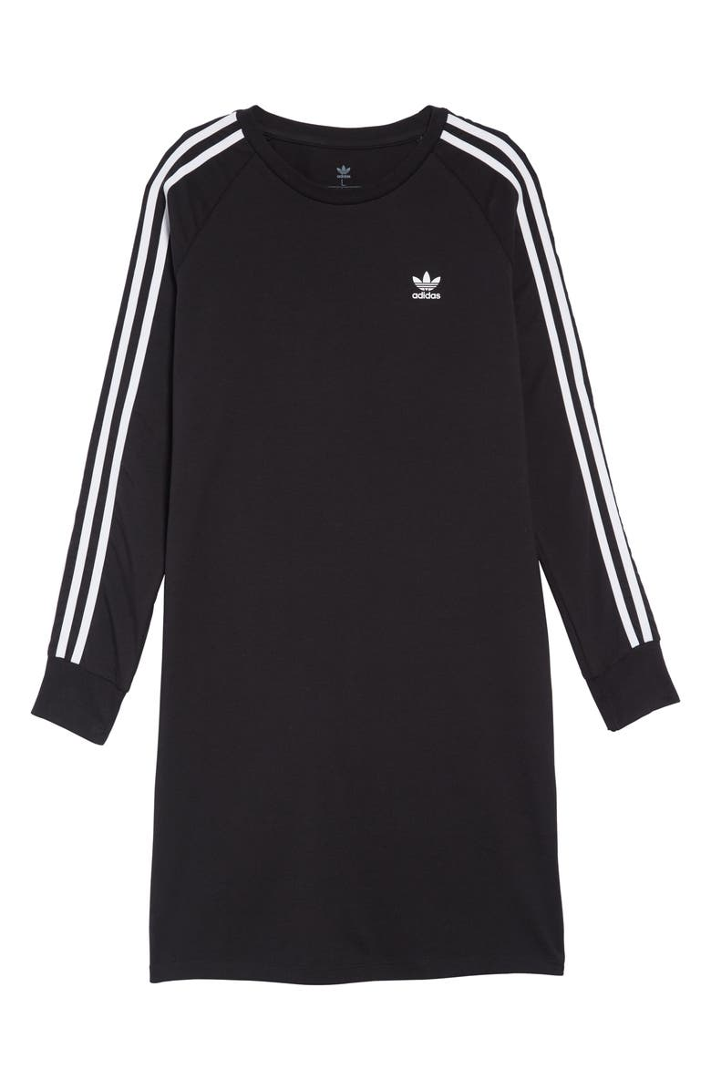 680e64307410 adidas Originals 3-Stripes T-Shirt Dress (Big Girls) | Nordstrom