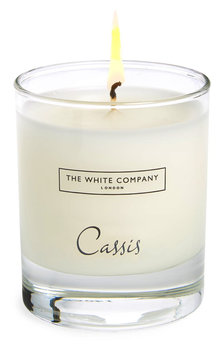 THE WHITE COMPANY Scented Candle, Main, color, CASSIS