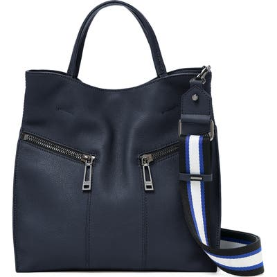 Botkier Trigger Pebbled Leather Satchel - Blue