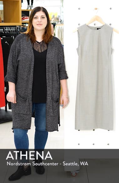 Eano Good Wool Sheath Dress, sales video thumbnail