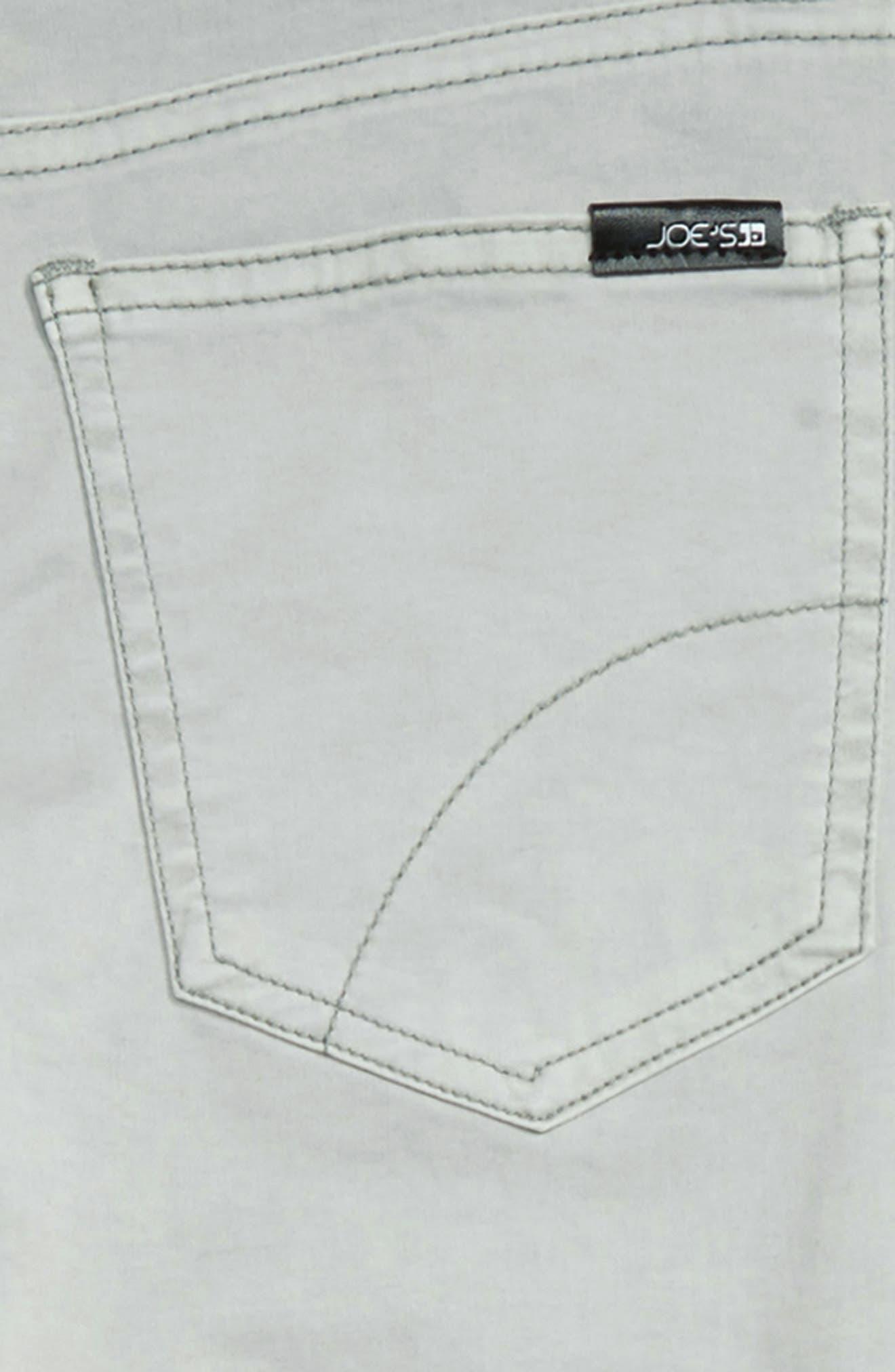 ,                             Brixton Straight Leg Stretch Jeans,                             Alternate thumbnail 3, color,                             AQUA
