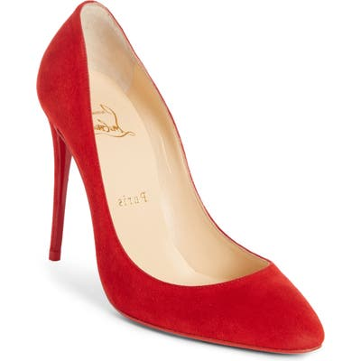 Christian Louboutin Eloise Pointy Toe Pump, Red