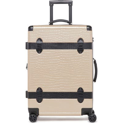 Calpak Trunk 22-Inch Rolling Suitcase - Beige