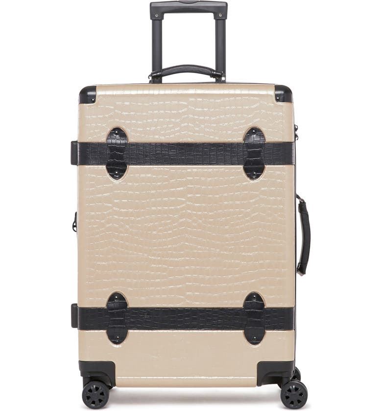 CALPAK Trunk 20-Inch Rolling Suitcase, Main, color, NUDE