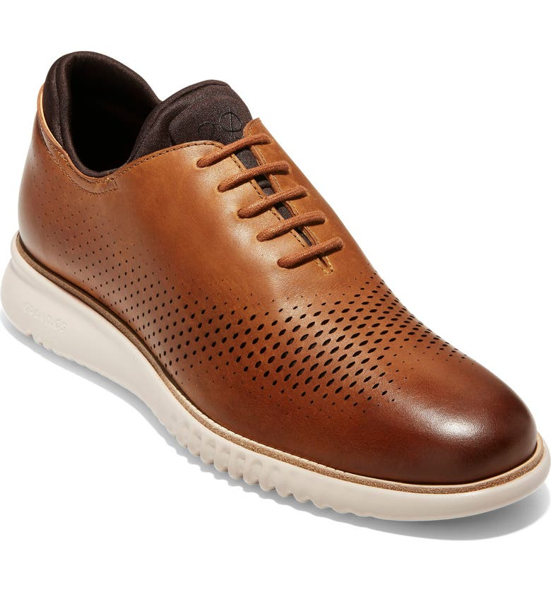 COLE HAAN 2.ZeroGrand Wingtip, Main, color, CASHEW LEATHER