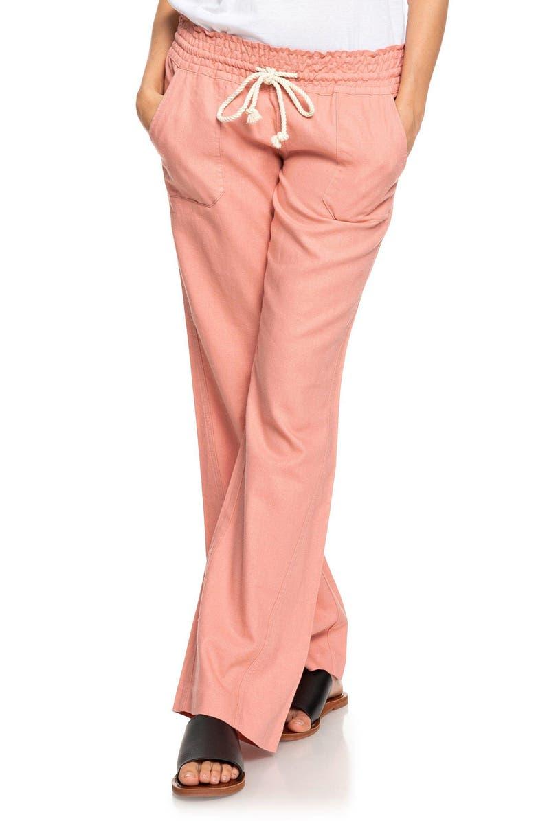 655e4b811b 'Oceanside' Beach Pants, Main, color, ROSETTE '
