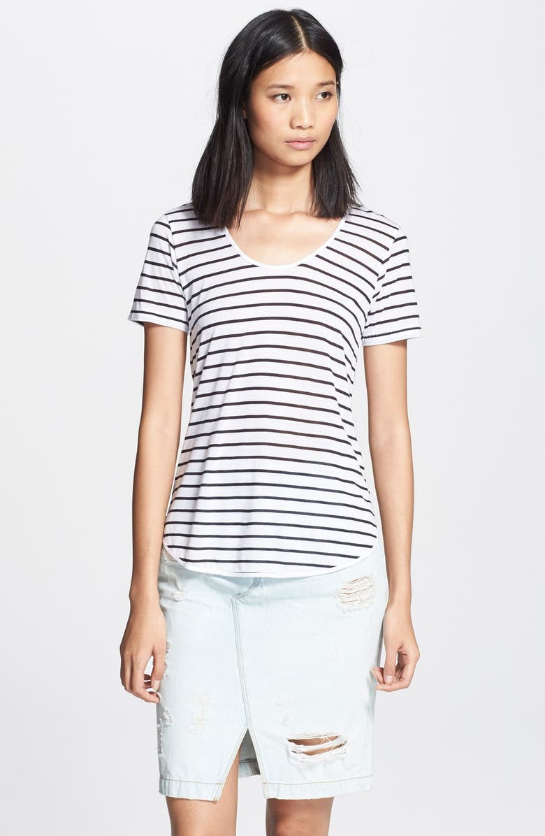 RAG & BONE/JEAN 'Aria' Stripe Tee, Main, color, 100