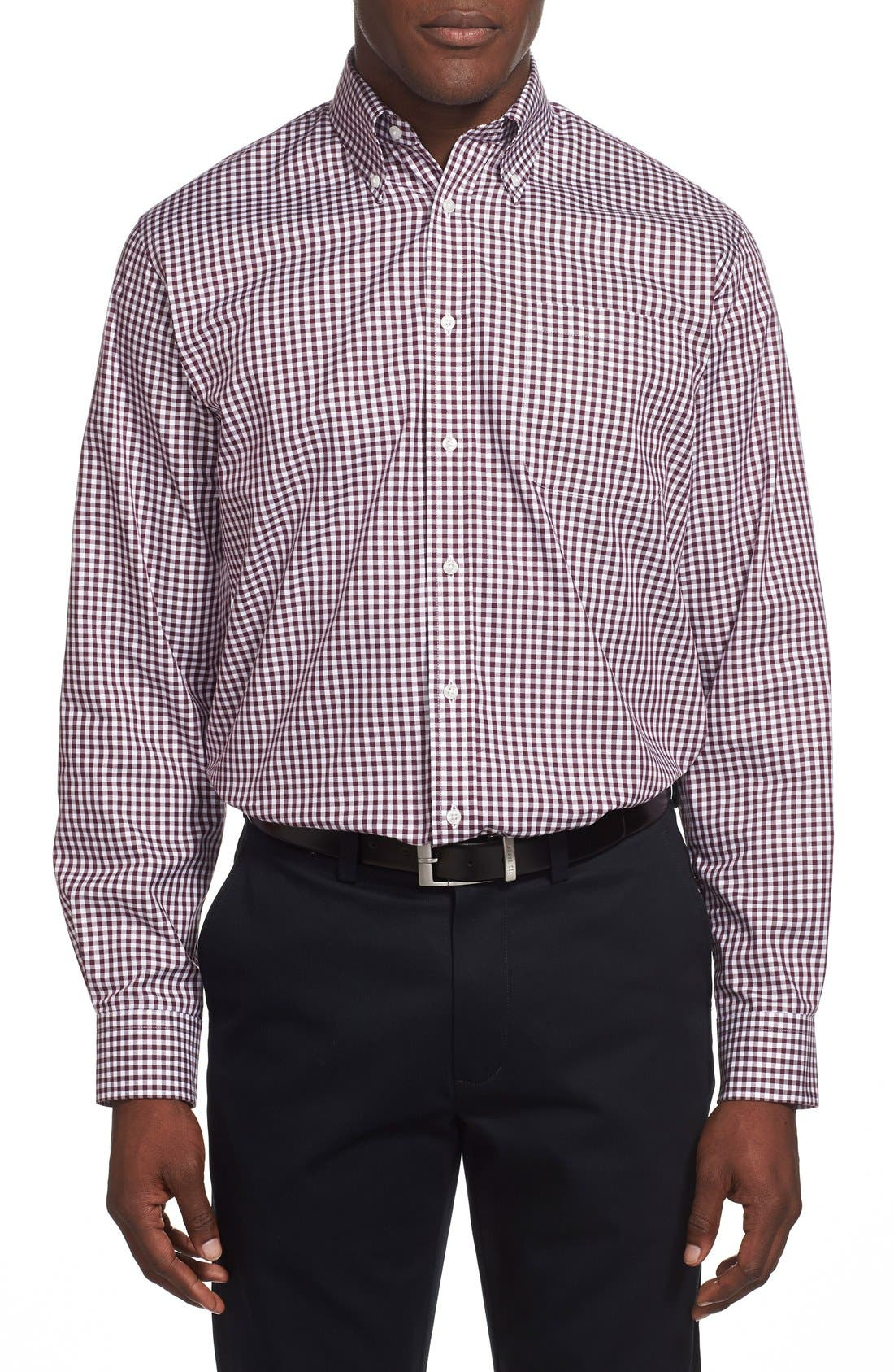 ,                             Traditional Fit Non-Iron Gingham Dress Shirt,                             Alternate thumbnail 62, color,                             501