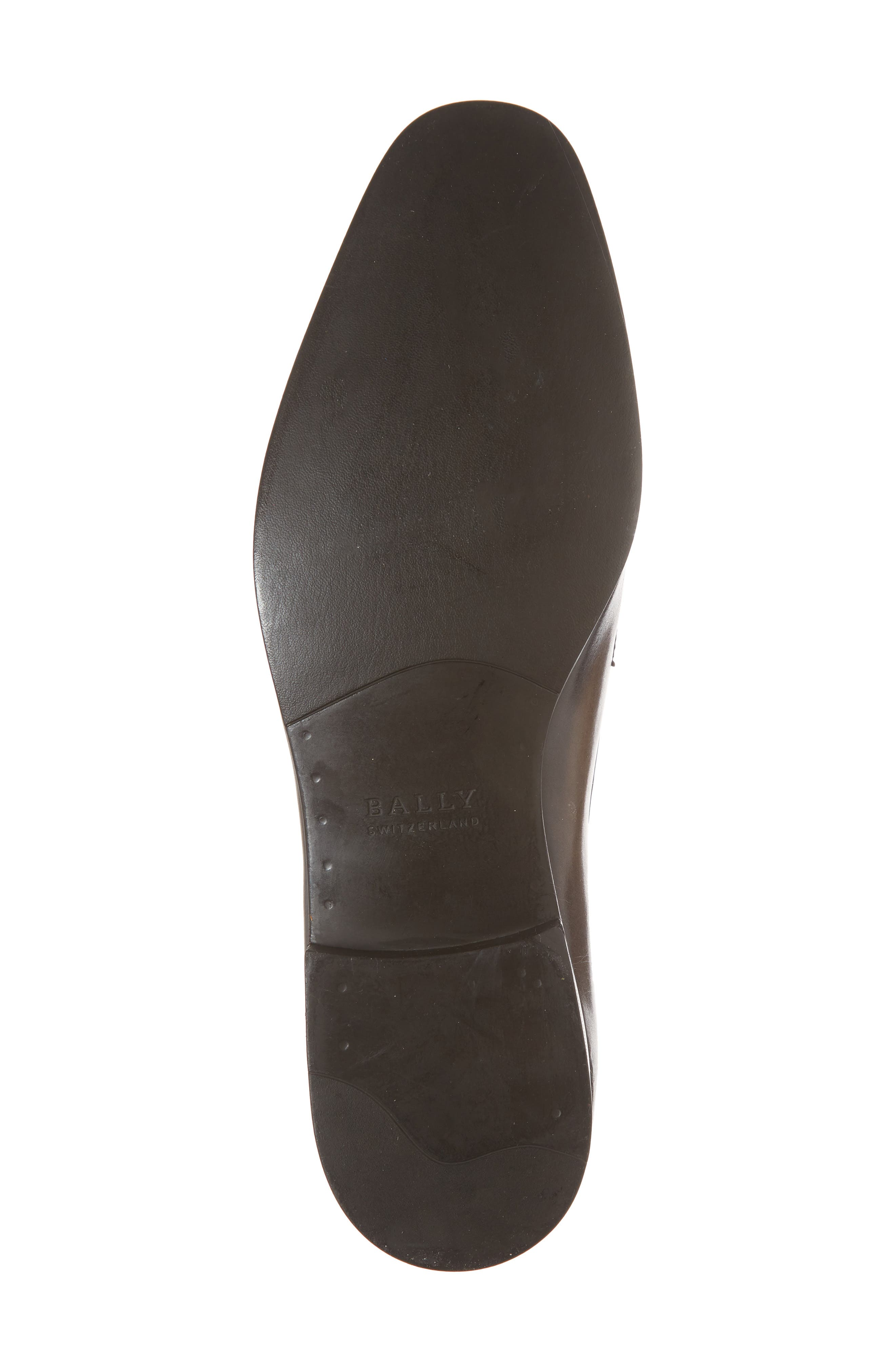 ,                             Lantel Plain Toe Derby,                             Alternate thumbnail 6, color,                             MID BROWN
