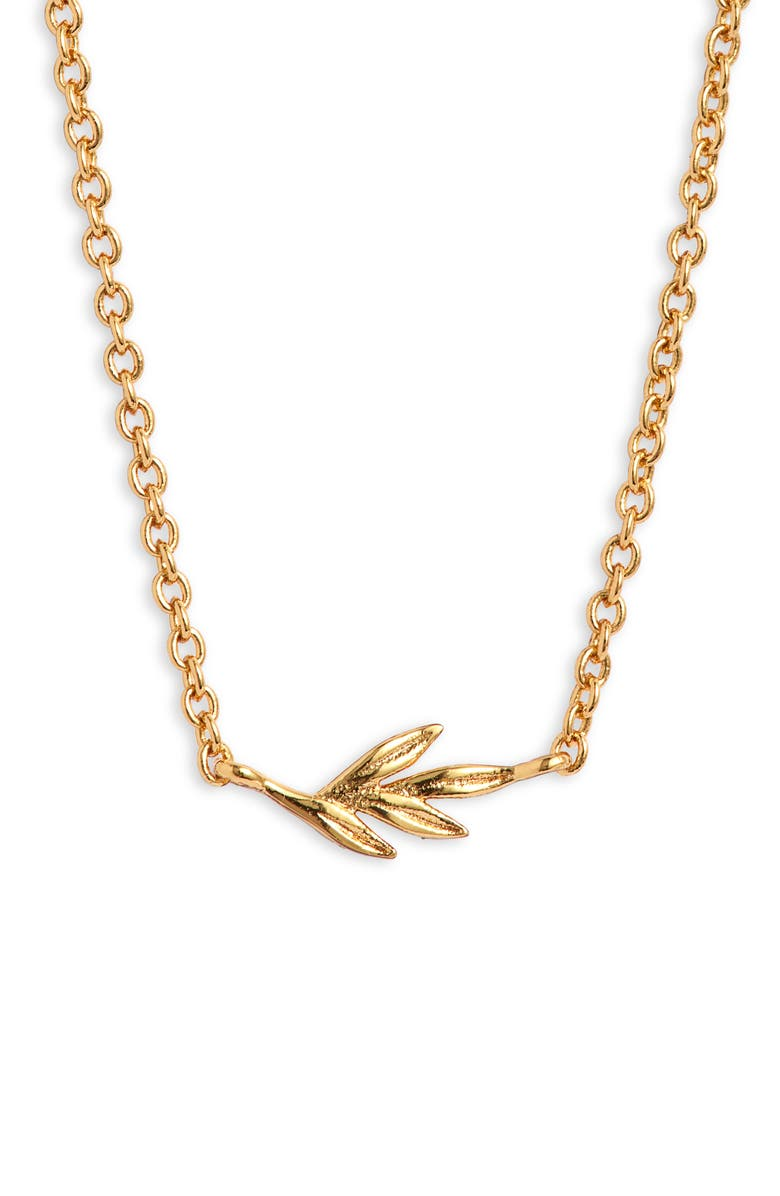 GORJANA Willow Pendant Necklace, Main, color, GOLD