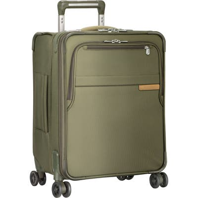Briggs & Riley Baseline Wide Body Expandable 21-Inch Rolling Packing Case - Green