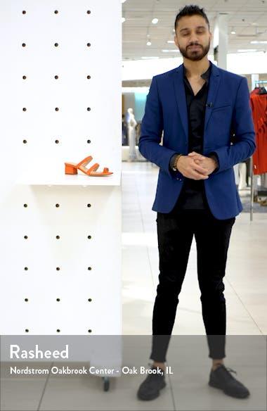 Carly Block Heel Sandal, sales video thumbnail