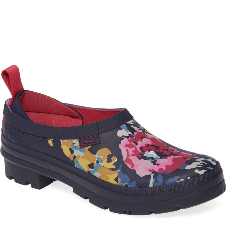 JOULES Rain Boot Clog, Main, color, 417