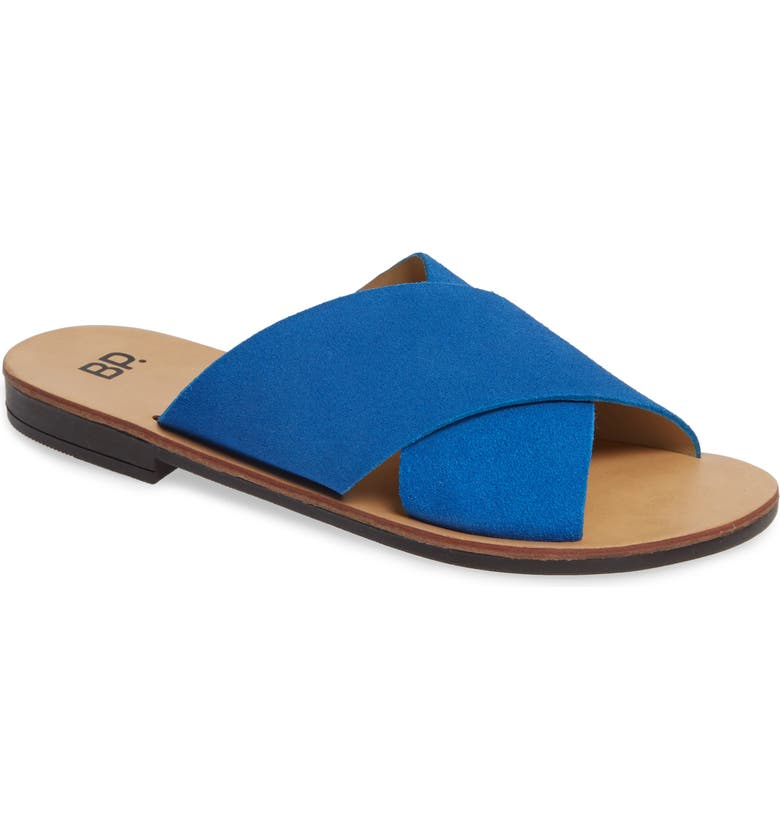 BP. Twist Cross Strap Sandal, Main, color, 410