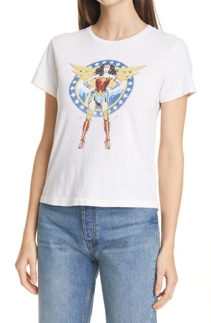 Re/done CLASSIC WW84 COMIC GRAPHIC TEE