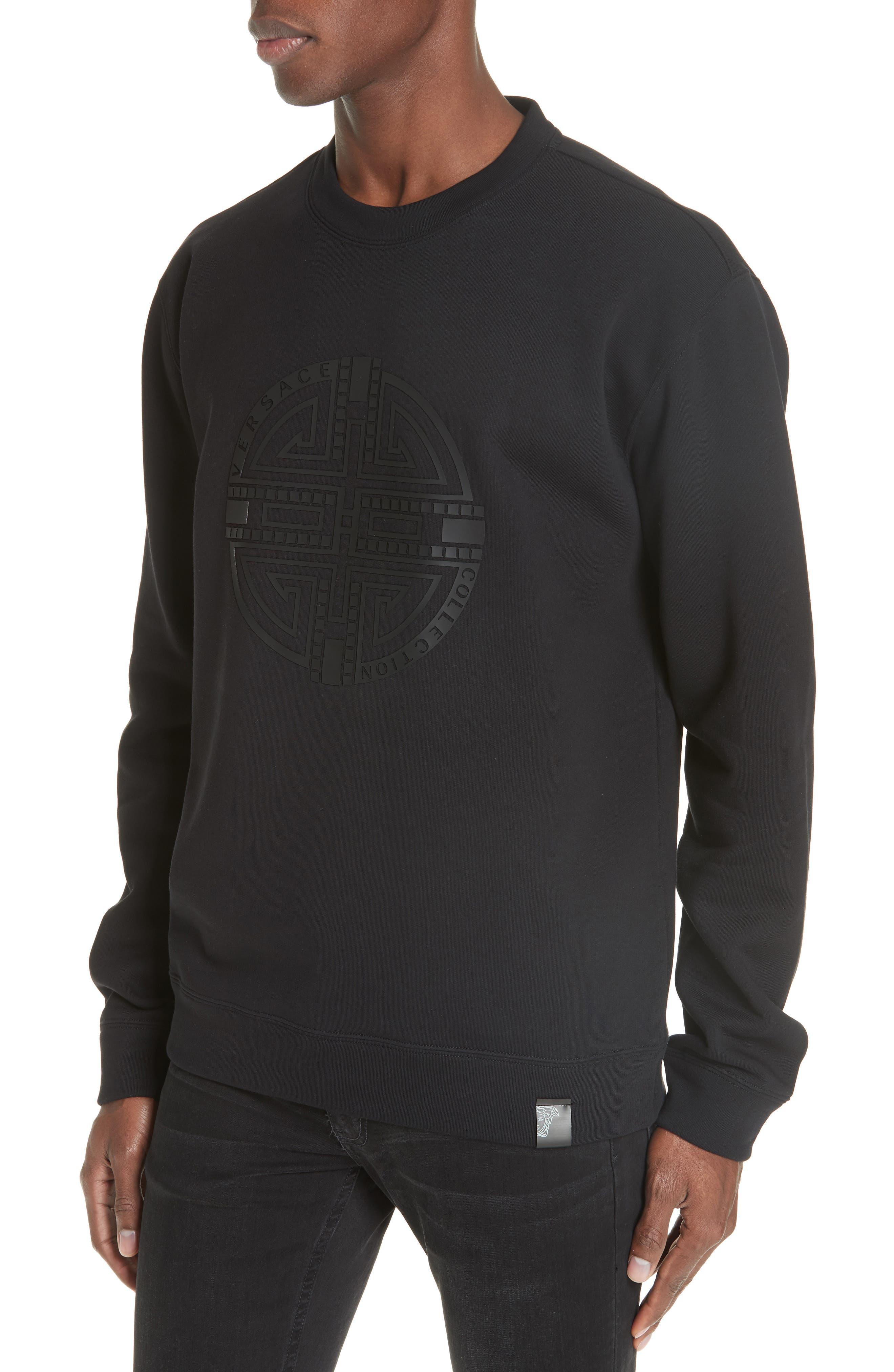 ,                             Large Logo Sweatshirt,                             Alternate thumbnail 4, color,                             001