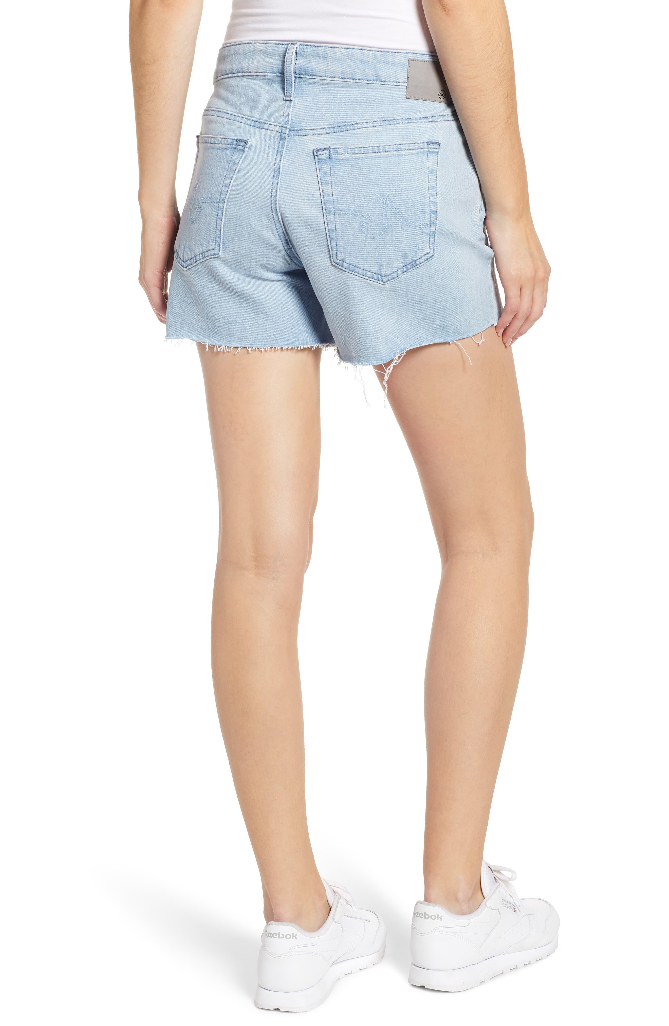 ,                             Hailey Boyfriend Cutoff Denim Shorts,                             Alternate thumbnail 2, color,                             26 YEARS SANGUINE