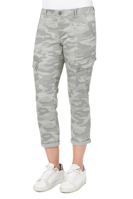 Image of Democracy Ab Solution Rolled Cuff Utility Jeans