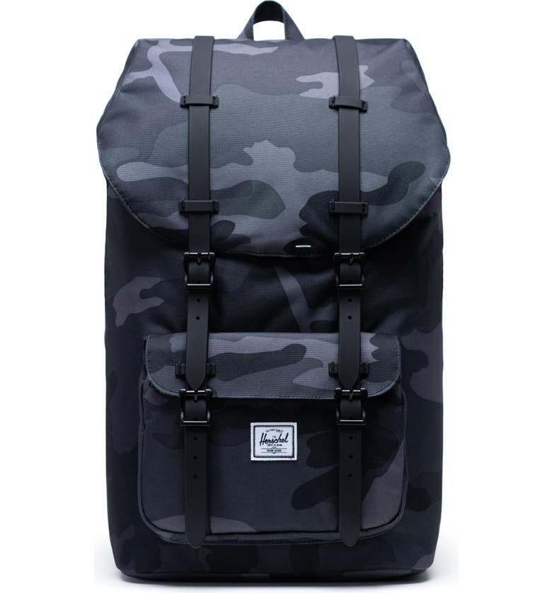 HERSCHEL SUPPLY CO. Little America Backpack, Main, color, NIGHT CAMO