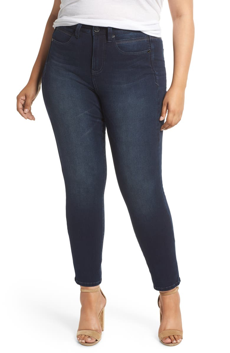 SEVEN7 Tummyless High Rise Skinny Jeans, Main, color, 402
