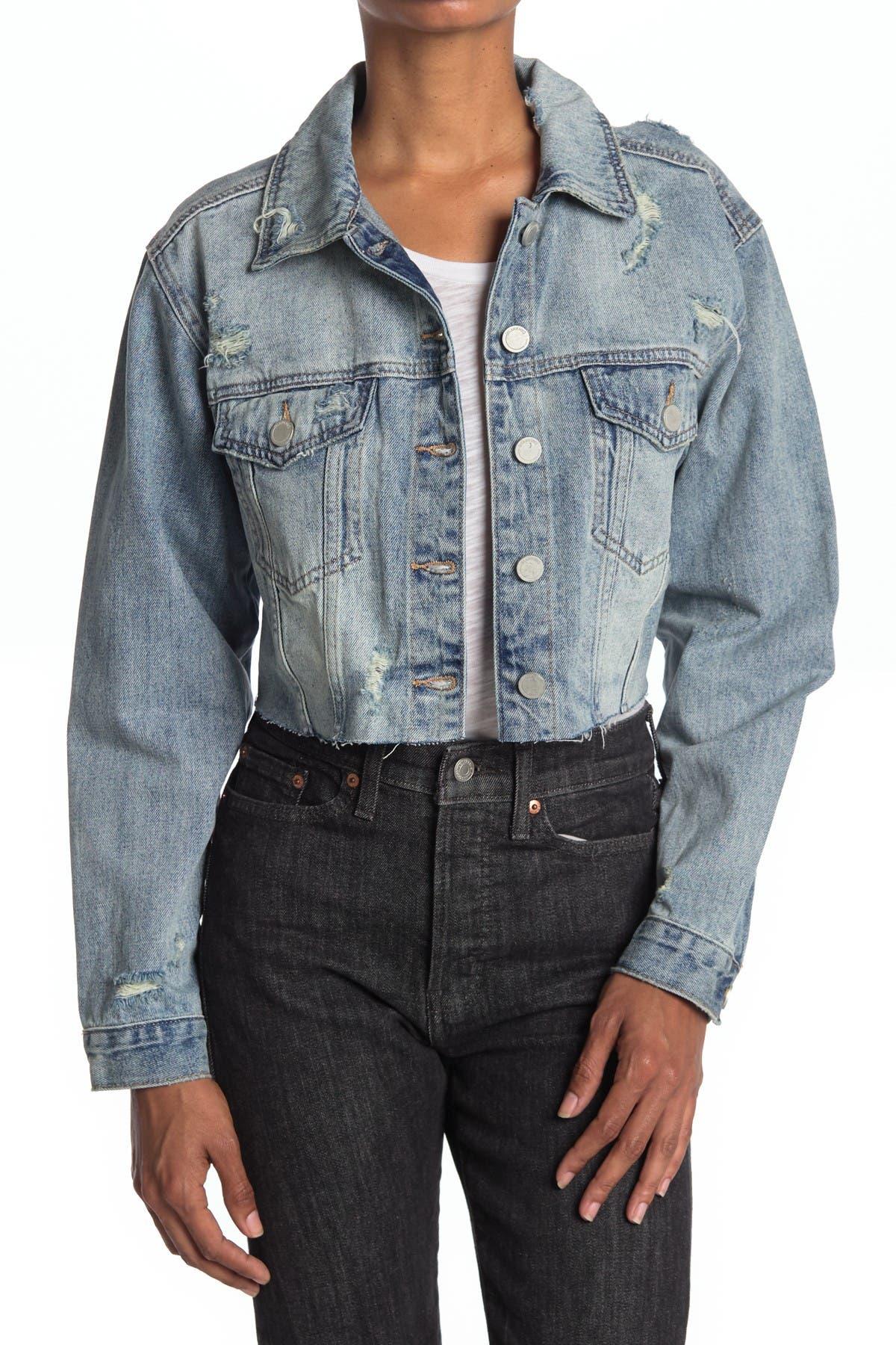 Image of BLANKNYC Denim Crop Denim Jacket