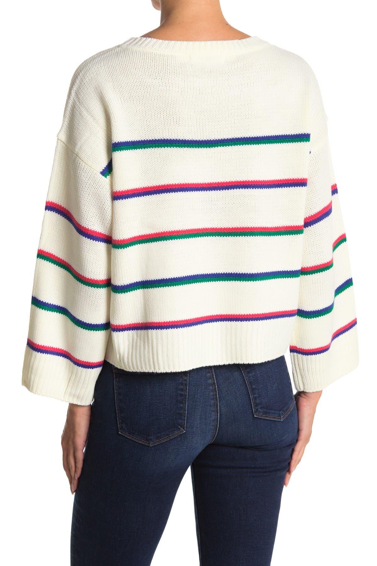 Image of BB Dakota Stripe Hype Sweater