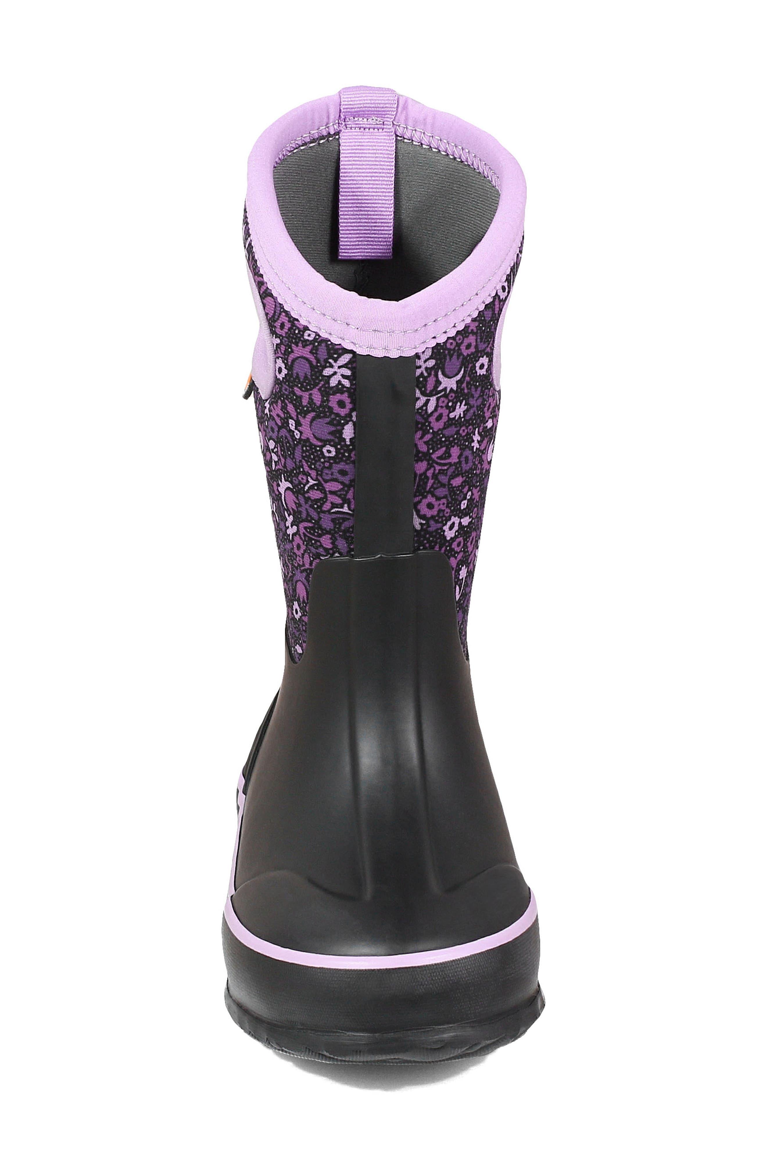 Bogs Classic Freckle Flower Waterproof Boot