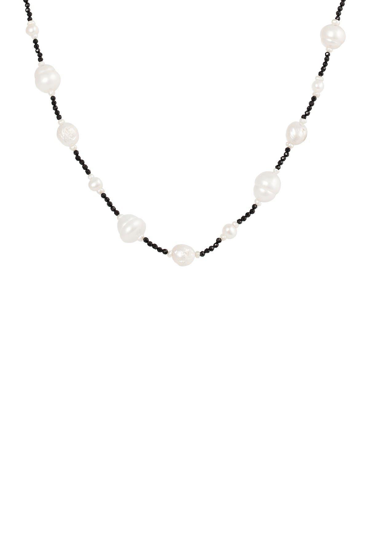Splendid Pearls 10-11mm Freshwater Pearl Necklace at Nordstrom Rack