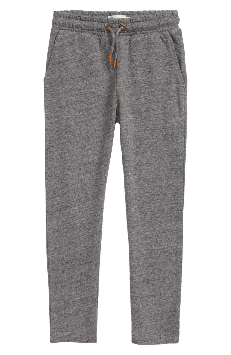 MINI BODEN Essential Sweatpants, Main, color, DARK GREY JASPE