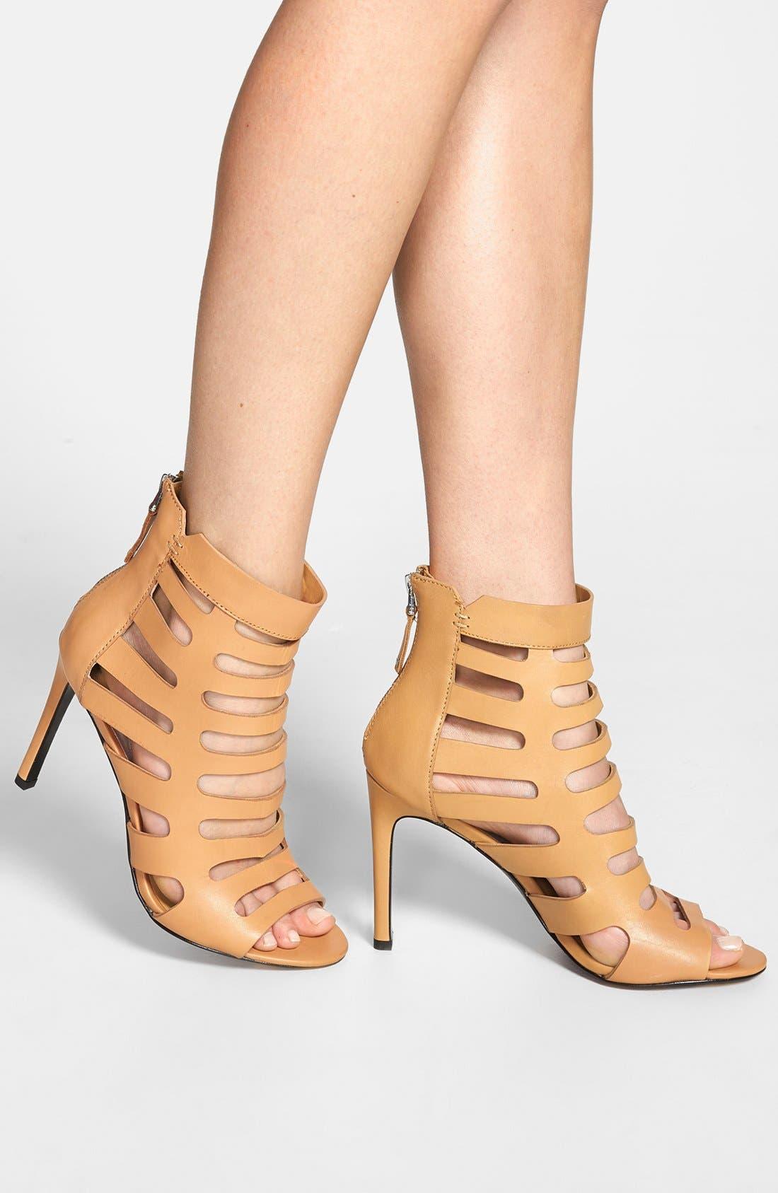 ,                             'Hettie' Leather Sandal,                             Alternate thumbnail 7, color,                             290