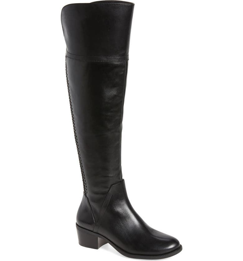 VINCE CAMUTO Bendra Over the Knee Split Shaft Boot, Main, color, 001