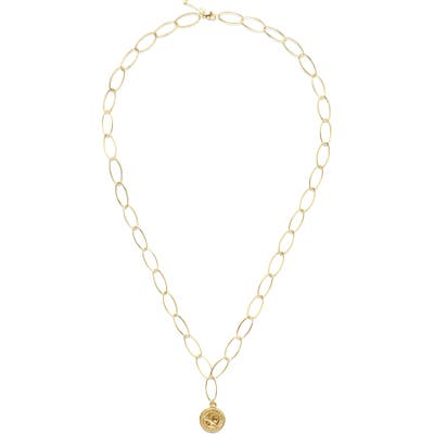 Ellie Vail Holly Coin Pendant Necklace