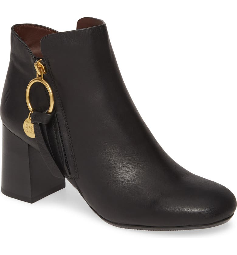 SEE BY CHLOÉ Louise Bootie, Main, color, BLACK