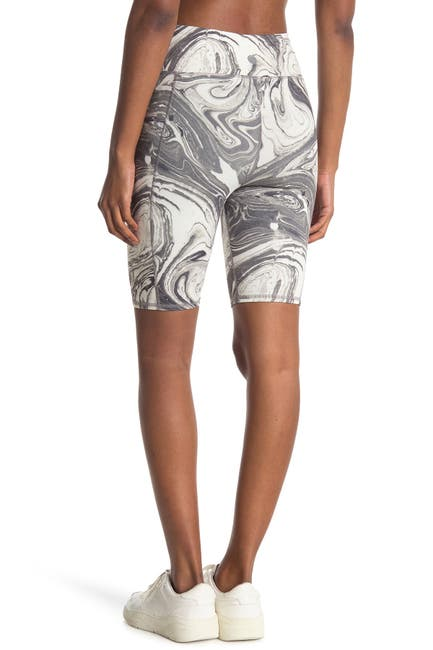Image of Threads 4 Thought Devi Marble Biker Shorts