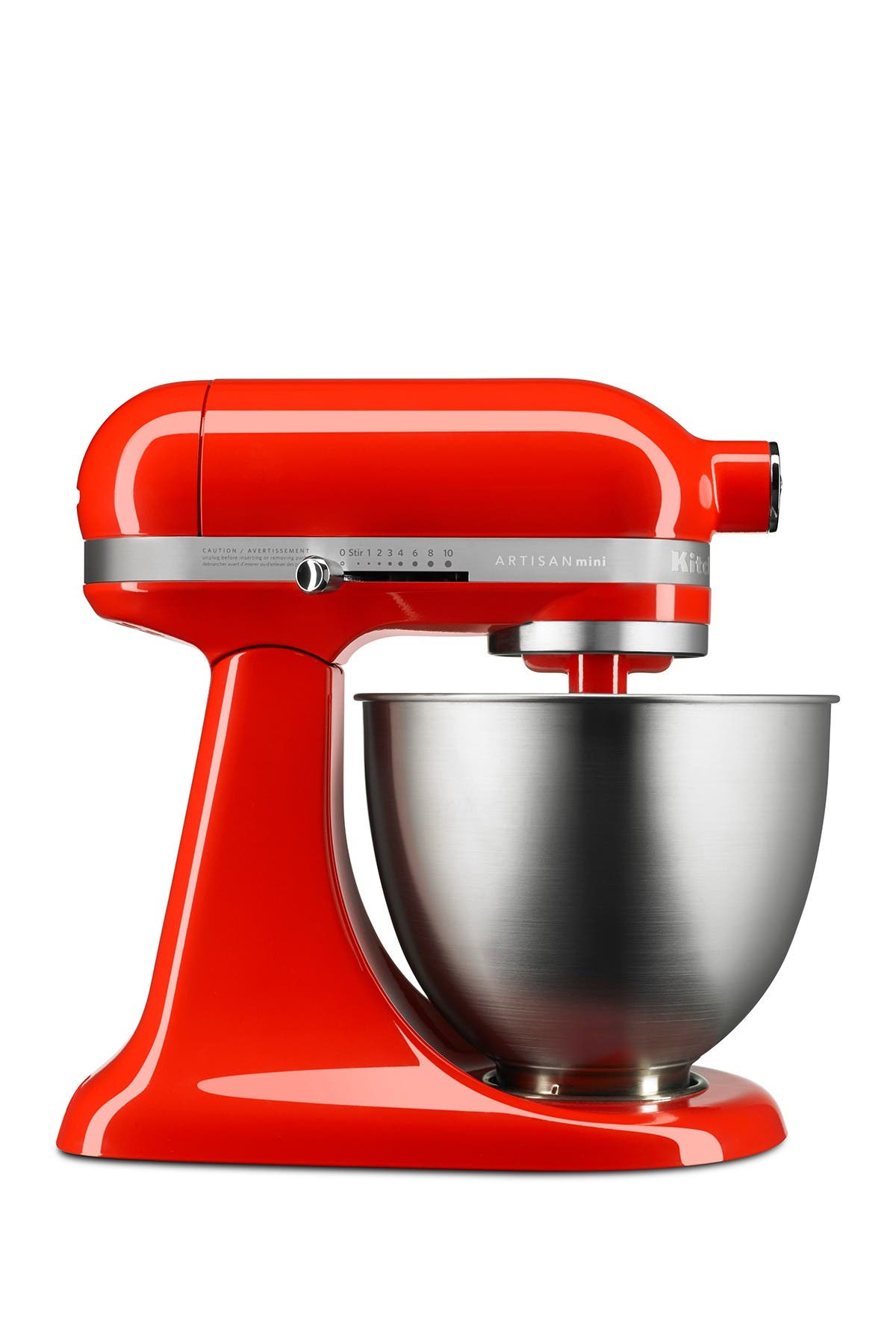 Image of KitchenAid 3.5-Quart Artisan Mini Stand Mixer - Hot Sauce