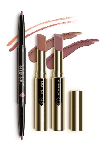 Image of Mirenesse Crazy In Love 3-Piece French Kiss Nude Matte Kit