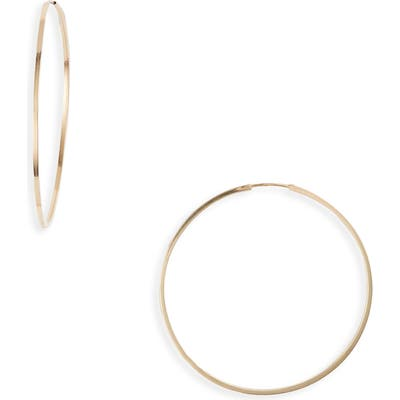 Bony Levy Essentials 14K Gold Thin Hoop Earrings (Nordstrom Exclusive)