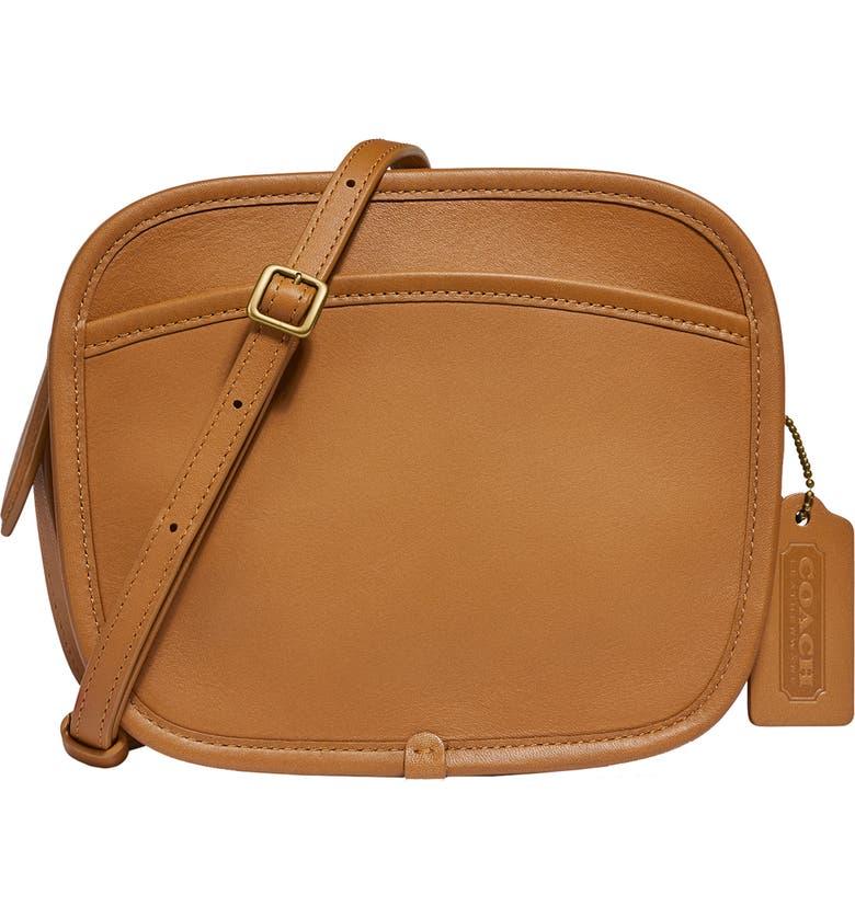 COACH x Runway Buy Now Zip Leather Crossbody Bag, Main, color, 200
