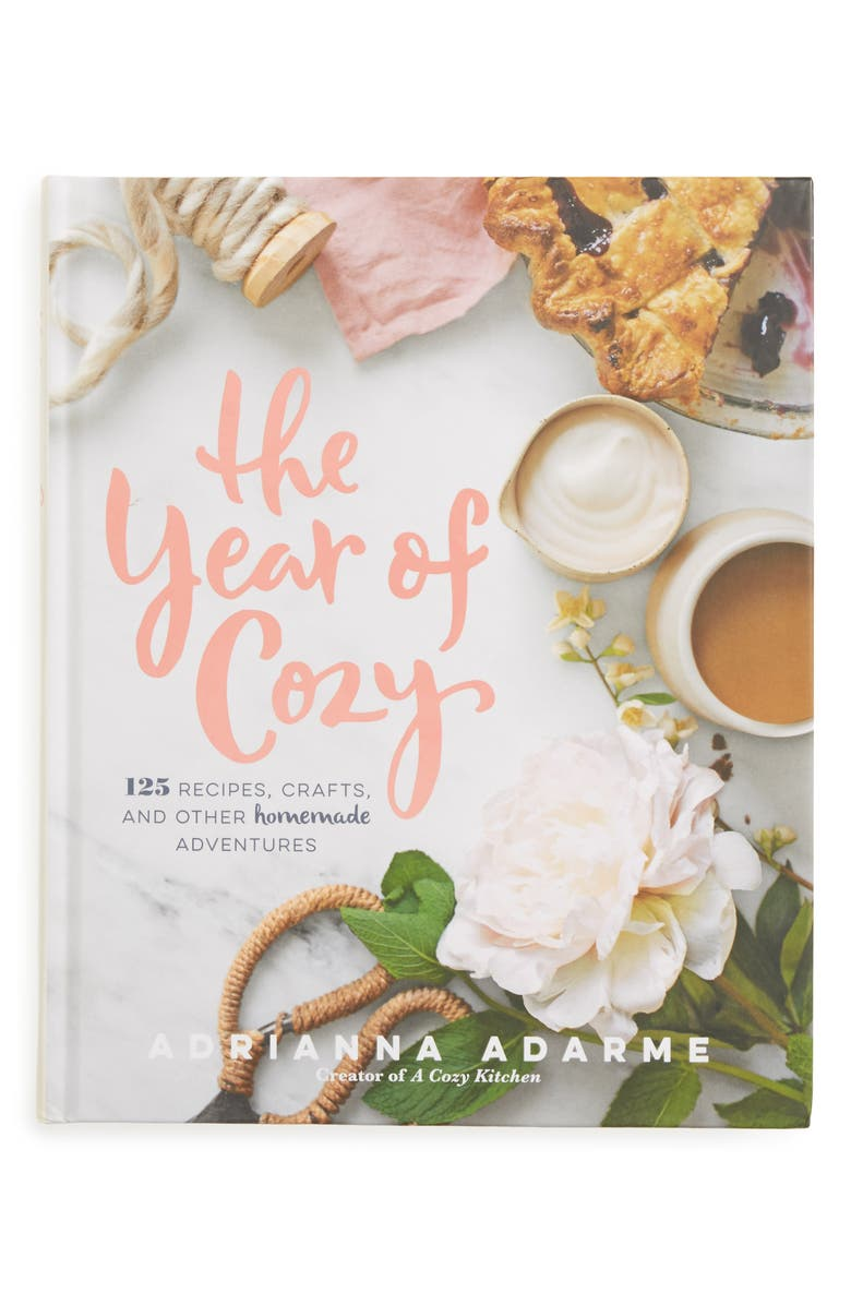 MACMILLAN The Year of Cozy: 125 Recipes, Crafts, and Other Homemade Adventures Book, Main, color, White