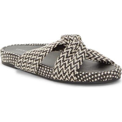 Lucky Brand Fynna Slide Sandal, Black